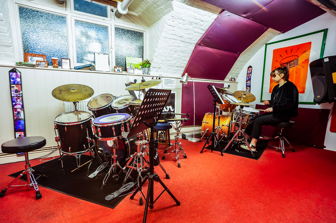drum practice studios in london