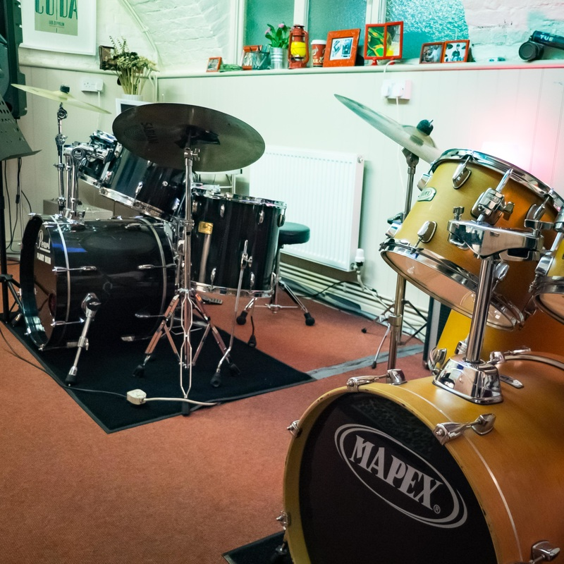 Drum studio in London