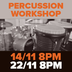 Percussion Workshop in London