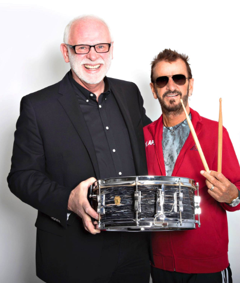 Gary Astridge and Ringo Starr
