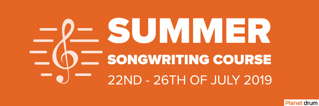 songwriting course at planet drum