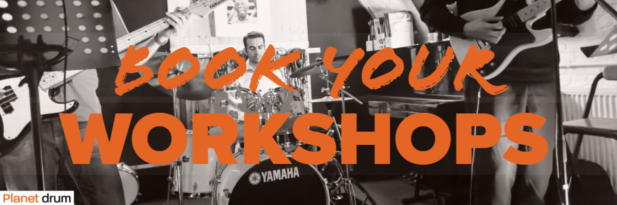 book your planet drum workshop